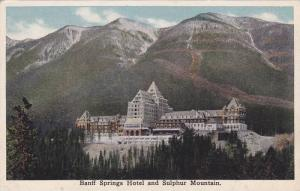 Banff Springs Hotel and Sulpher Mountain, Alberta, Canada, 10-20s