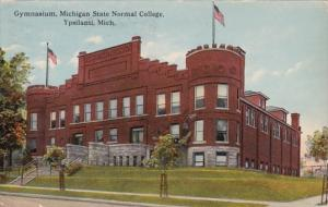 Michigan Ypsilanti Gymnasium Michigan State Normal College 1915 Curteich