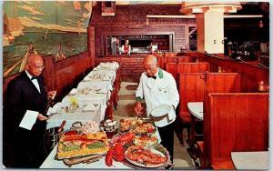 Bethesda MD & Wash. DC Postcard O'DONNELL'S SEA GRILLS Restaurant c1950s Unused
