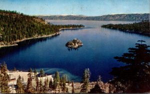California Lake Tahoe Emerald Bay 1961