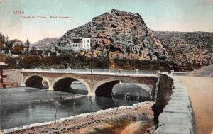 Liban Lebanon Fleuve du Chien Pont Nouveau, New Bridge River Nahr el-Kelb
