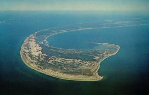 MA - Cape Cod, Aerial View of the Tip