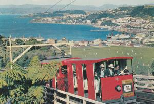 Wellington New Zealand Cable Car Postcard