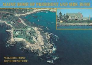 Maine Kennebunkport Walker's Point Summer Home Of President & Mrs Bush
