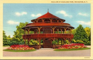 New York Rochester Pavilion At Highland Park Curteich