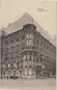 Hotel de Ville, Gand, Gent, East Flanders, Belgium