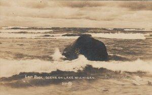 RP: LOST ROCK , Lake Michigan , 1900-10s
