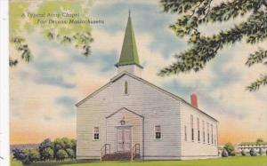 Massachusetts Ayer Fort Devens Typical Army Chapel