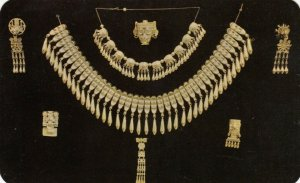 OAXACA, Mexico, 40-60s; Partial group of reproductions of Jewels of Monte Alban