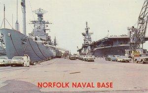NORFOLK , Virginia , 50-60s Naval Base