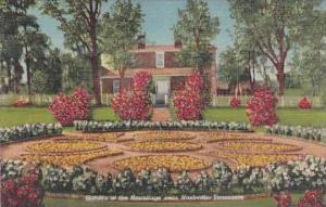 Tennessee Nashville Garden Of The Hermitage