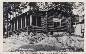 RP: SUDBURY , Ontario, Canada, 1930-40s ; Blue Mountain Lodge