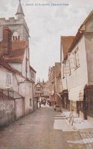 ST. ALBANS , England , 1900-10s ; French Row