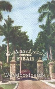 Fibah Republic of Cuba Chateau Madrid Fibah Chateau Madrid