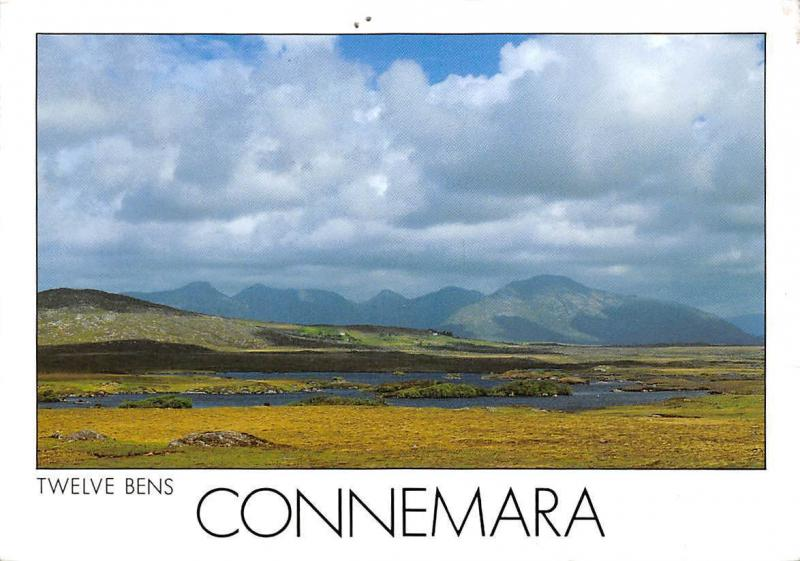 Twelve Bens Connemara Landscape