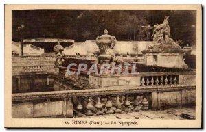 Old Postcard Nimes Gard Nymph?e
