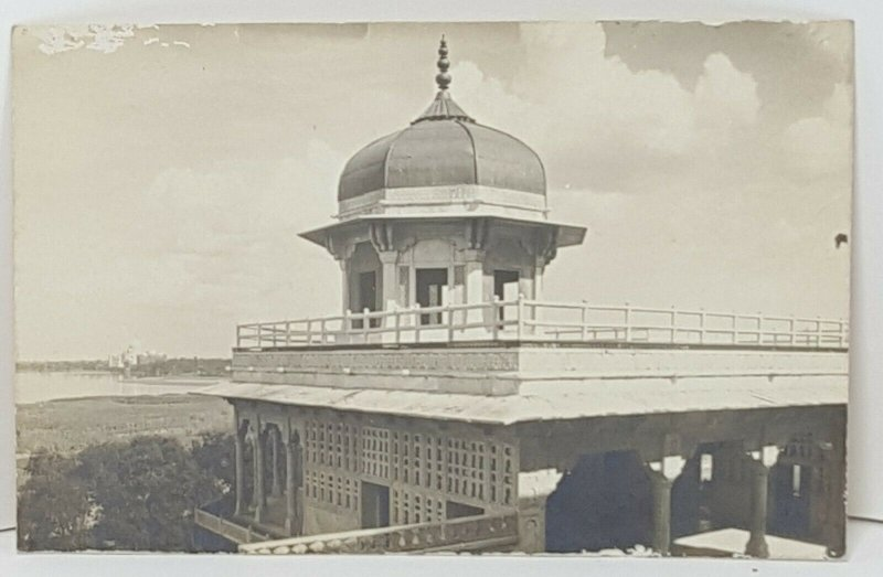 Agra Building Postcard Vintage Postcard