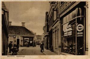 CPA DELFZIJL Martkstraat NETHERLANDS (604143)