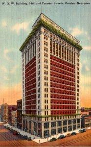Nebraska Omaha Woodmen Of The World Building 14th and Farnam Streets