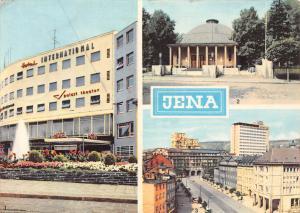 Jena, Hotel International Zeiss Planetarium Blick auf das Zeiss Hochhaus