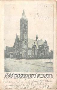 Churches Vintage Postcard Canton, OH, USA Vintage Postcard First Methodist Ep...