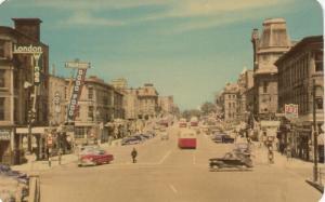 GUELPH , Ontario , Canada , 1950-60s ; Wyndham Street