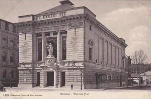 Switzerland Geneve Victoria Hall