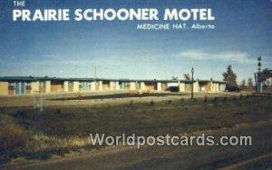 Prairie Schooner Motel Medicine Hat, Alberta Canada Unused