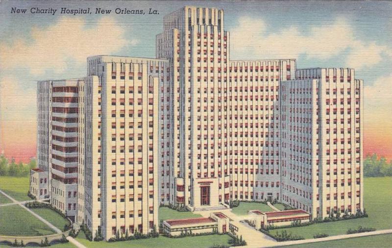 New Charity Hospital, New Orleans, Louisiana, 30-40´s