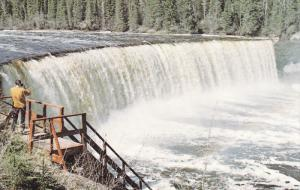 Lady Evelyn Falls , HAY RIVER , N.W.T., Canada , 50-60s