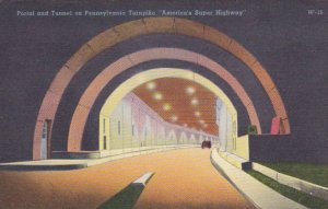 Pennsylvania Turnpike Portal and Tunnel