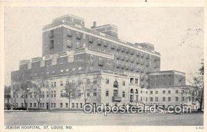 Jewish Hospital St Louis, MO, USA Unused