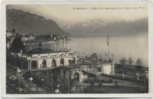 Switzerland Montreux pavillon des sports dents du midi 01.27