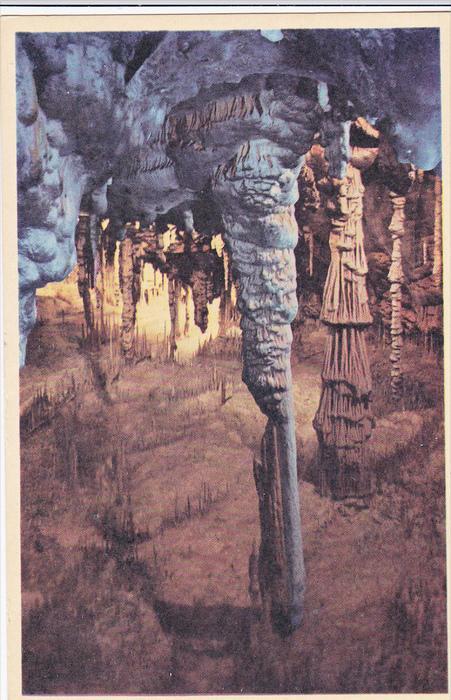 Cave; Cuevas Del Drach , Spain , 30-40s ; Teatro de las hadas (Fairy Theatre)