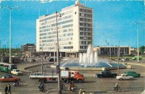 Netherlands Rotterdam Hofplein automobile hotel Shell postcard