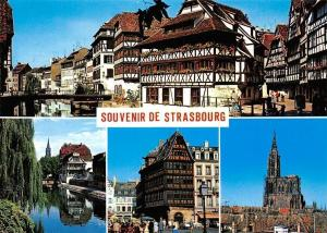 France Strasbourg La Petite France, L'Ill, La Maison Kammerzell La Cathedrale