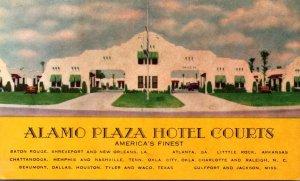 Alamo Plaza Hotel Courts Louisiana Georgia Arkansas Texas and More 1941