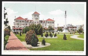 Hemming Park & Windsor Hotel Jacksonville Florida Unused c1905