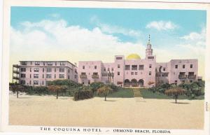 ORMOND BEACH , Florida , 1910s; The Coquina Hotel