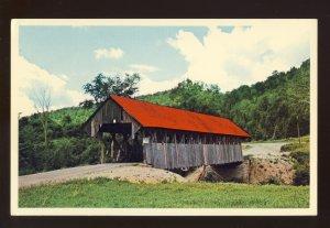 Lincoln Plantation, Maine/ME Postcard, The Bennett Bridge, Wilson Mills