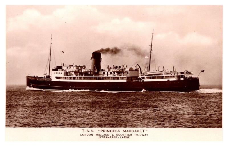 T.S.S. Princess Margare,  London Midland & Scottish Railway, RPC