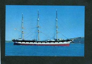 CA Balclutha Ship Sailing San Francisco California Postcard Star of Alaska