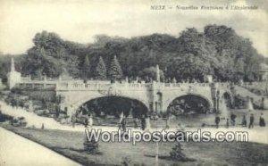 Nouvelles Fontaines a I'Esplanade Metz Germany Unused