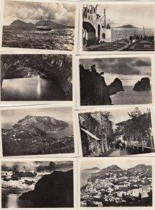 RP; CAPRI, Campania, Italy, 1930-1940s; 10 views