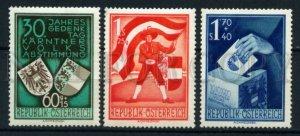 008821 Austria 1950 set MNH CATALOG VALUE 120 #8821