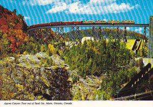 Canada Algoma Central Railway in Agawa Canyon Sault Ste. Marie Ontario