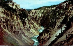 Wyoming Yellowstone National Park The Grand Canyon Of The Yellowstone 1959