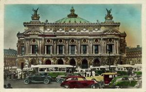 france, PARIJS, L' Opera, Bus Auto (1947) Theater