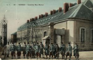CPA Militaire - RENNES - Caserne Mac-Mahon (90077)
