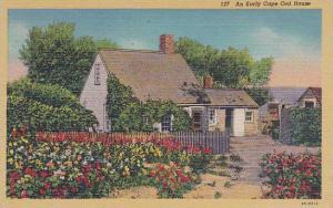 Massachusetts Cape Cod An Early Cape Cod House